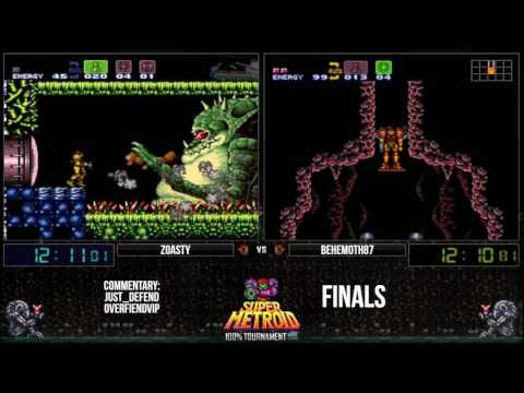 SGDQ 2018 Super Metroid 100% Map Completion by Oatsngoats