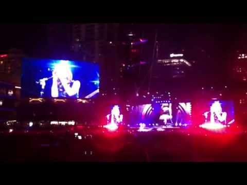 Taylor Swift WANEGBT Live 1989 Tour Petco Park