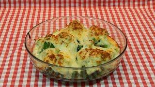 Receta de brócoli gratinado con bechamel