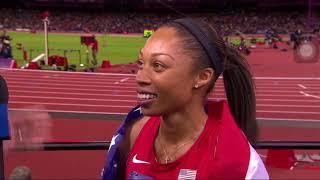 Allyson Felix gold medalist