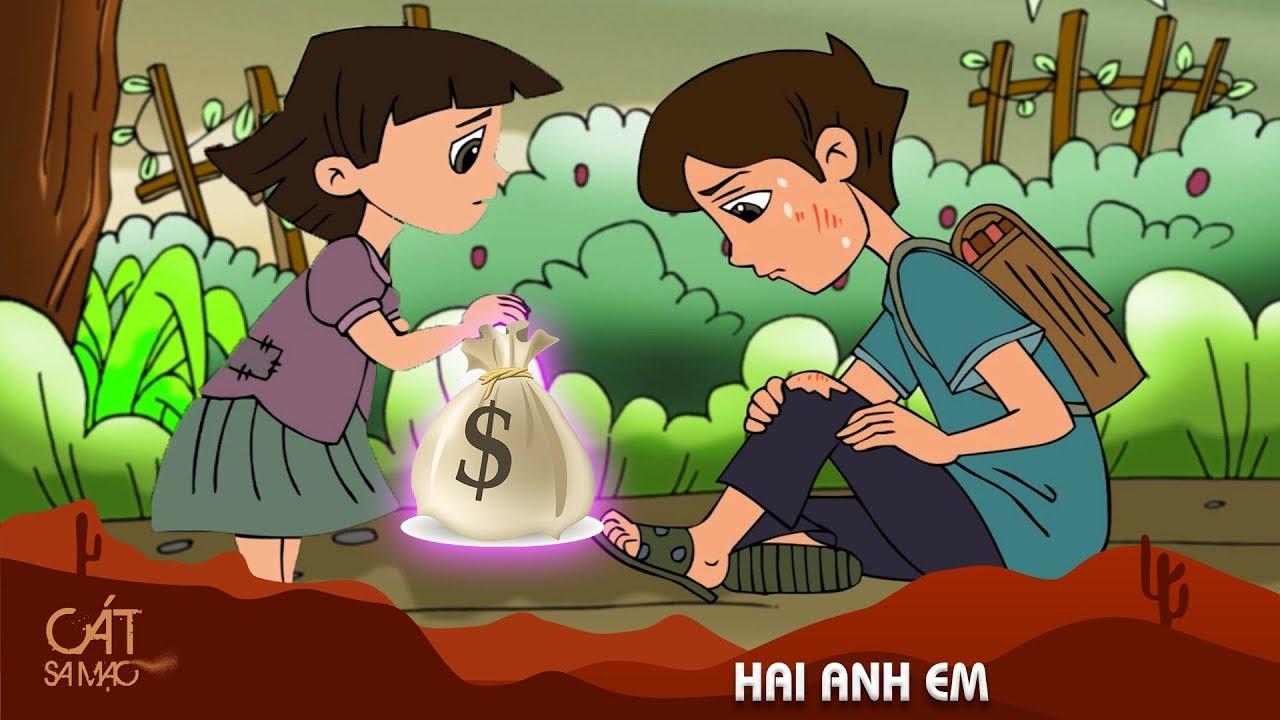 HAI ANH EM – Phim hoạt hình – QUÀ TẶNG CUỘC SỐNG  – Phim hoạt hình hay nhất 2020