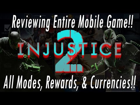 NEW Injustice 2 Mobile FULL Game Review – Campaign/Arena/Operations/Training/Characters/Gameplay!