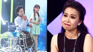 Cẩm Ly khóc nức nở khi nghe Cha con bán kẹo kéo hát đầy tình cảm - TIN TỨC 24H TV