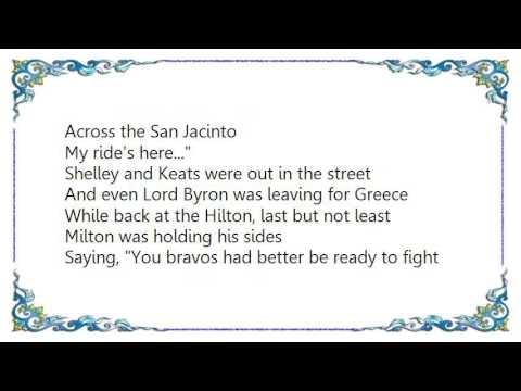 Warren Zevon - My Ride's Here Lyrics