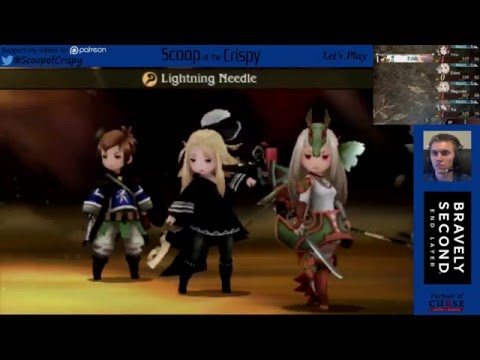 Bravely Second (3DS) - 10 - Fencer and Bishop Asterisk - Mike's Playthrough