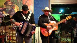 Josh Baca & Max Baca - Texas Folklife Big Squeeze Jam @ Gallista Gallery 2013