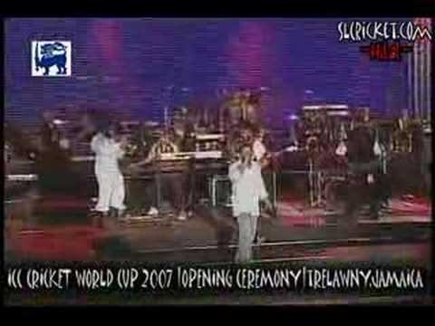 World Cup Cricket 2007 Opening Show With Beres and Buju