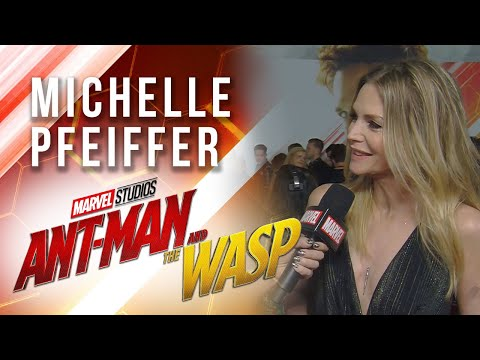 Michelle Pfeiffer at Marvel Studios' Ant-Man and The Wasp Premiere