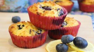 Muffins de Blue Berries