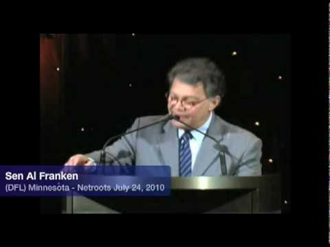 Sen. Franken: Stop the Corporate Takeover of the Media