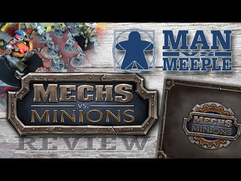 Mechs vs Minions (Riot Games) Review by Man Vs Meeple