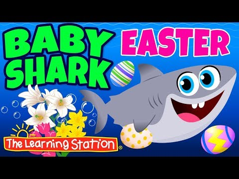 baby-shark-easter-song-🐰-easter-songs-for-children-🐰-kids-songs-by-the-learning-station