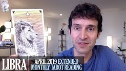LIBRA April 2019 Extended Monthly Intuitive Tarot Reading by Nicholas Ashbaugh