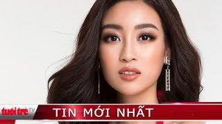 Đỗ Mỹ Linh chào độc giả Báo Tuổi Trẻ và chia sẻ sau đêm chung kết Miss World 2017