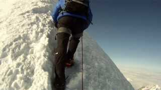 Mont Blanc, June 2013, full Gouter Route
