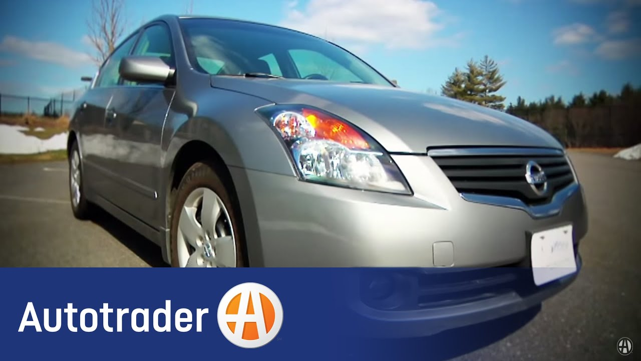 2007 2010 Nissan Altima Sedan Used Car Review Autotrader Youtube