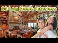 60 Magnificent  Interior Log Homes - DIFFERENT STYLES OF HOMES