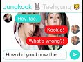 Taekook / Vkook - Broken Heart (Fake Texting) #16