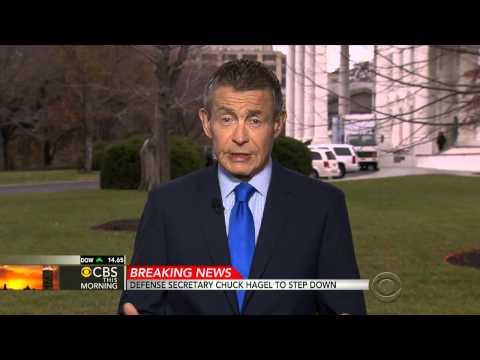 Defense Secretary Chuck Hagel To Step Down