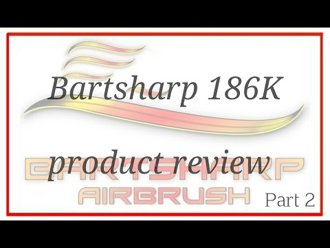 Unboxing Airbrush Kit 186 Dual Action Gravity Feed Airbrush (Part 2)