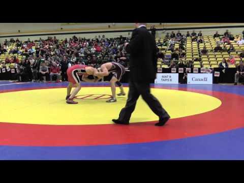 2015 CIS Championships: 68 kg Final Andrew McKenzie vs. Chris Garneau
