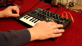 Korg monotron DELAY unboxing and demo