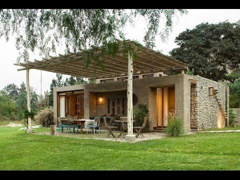 Casa chontay modern residence with optimum indoor outdoor - Casas de campo interiores ...