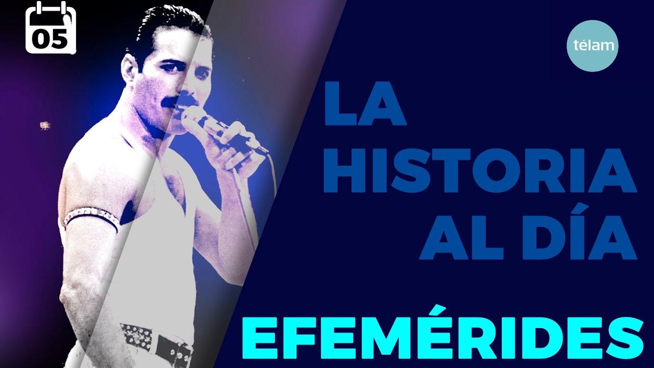 LA HISTORIA AL DÍA (EFEMÉRIDES 05 SEPTIEMBRE)