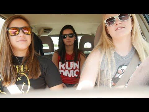 Lip Syncing Car Karaoke-Throwback Songs,