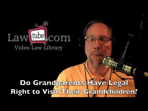 Do Grandma and grandpa Have Legal Legal rights for their Grandchildren
