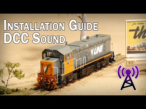 DCC Sound Installation Guide for the Auscision P Class