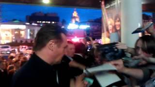 Лиам Нисон на премьере фильма