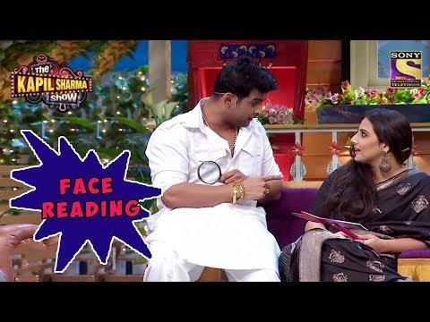 Sanju Baba Reads Vidyabalan's Face  The Kapil Sharma