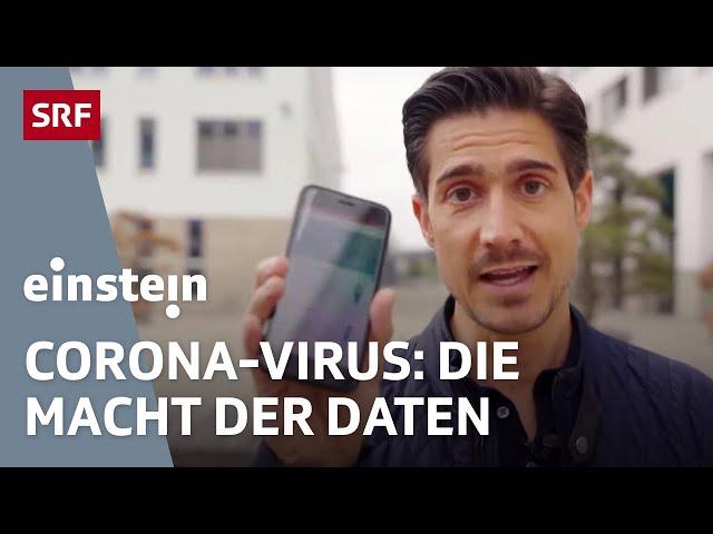 Corona in der Schweiz: So könnten Apps & künstliche Intelligenz (KI) beim Exit helfen   SRF Einstein