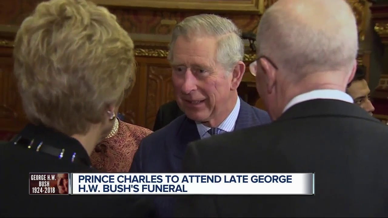 Prince Charles To Attend George H W Bush S Funeral Youtube