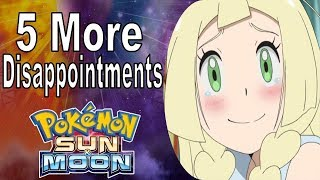 5 More Disappointments in Pokemon Sun and Moon! | @GatorEXP