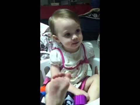 "Baby tells dad ""She"
