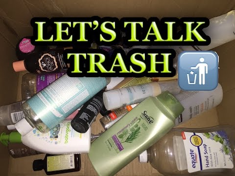 let's-talk-trash-july-2016-|-product-empties