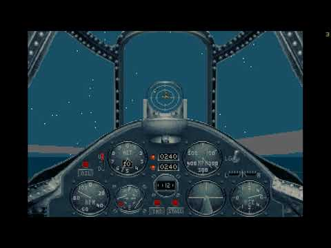 Aces of the Pacific - Gameplay on Win 10 (DosBox)