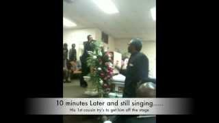 Man Gone Wild at a Funeral- Drama at a Funeral