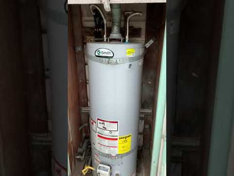 A O Smith Water Heater making humming noise and vibration