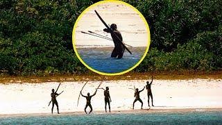 Одна женщина совершила невозможное, попав на остров в самое агрессивное племя на Земле!