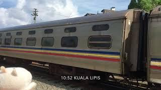 [Malaysian train] KTM Intercity SUPERIOR NIGHT CLASS, マレー鉄道東海岸線