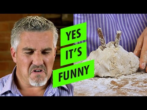 PAUL Hollywood STORMS OFF SET baking crumpets