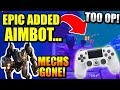 MECHS ARE GONE! PRO Controller Players ADMIT New UPDATE Is AIMBOT.. PROOF!