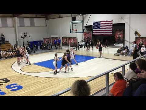 Laurel Lady Hawks vs Discovery Christian School 4th Quarter 11/15/2019 Varsity Girls Basketball