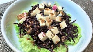 Салат СВЕКОЛЬНЫЙ диетический.   Diet Beet Salad