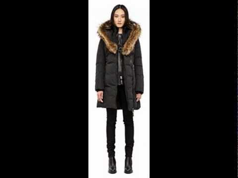b9029f3d9c9d Mackage Women s Kay Down Coat with Fur Trim OS28 - YouTube