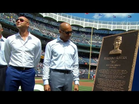 TB@NYY: Rivera honored in dedication ceremony