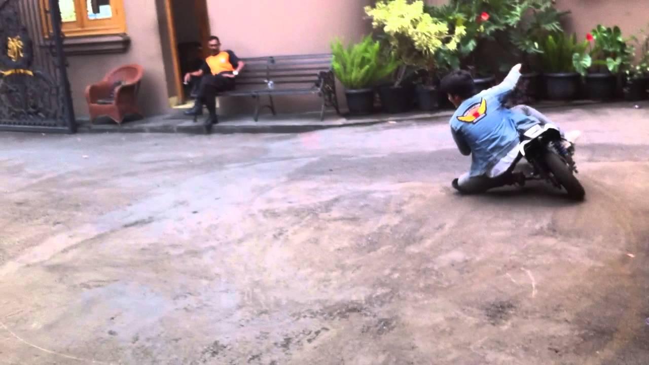Mahator Indonesia Minibike Kneedown